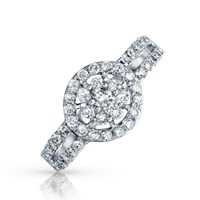 Bling Jewelry Say Yes Cluster Ring