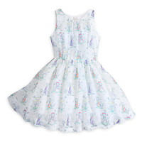 Disney Animators' Collection Woven Dress for Girls | Disney Store