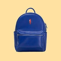 Parrot PU Leather Backpack