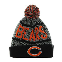 Chicago Bears NFL Gray Bedrock Knit Cuff Beanie Winter Hat W1