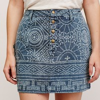 Free People School Daze Mini Skirt