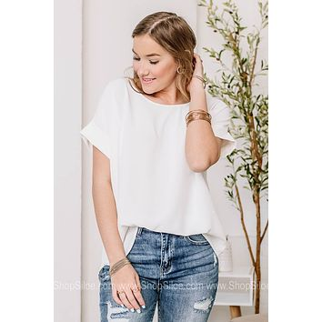 Thinking Out Of The Box Basic Top | White