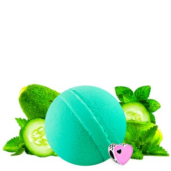 Cucumber Mint | Single Charm Bath Bomb®