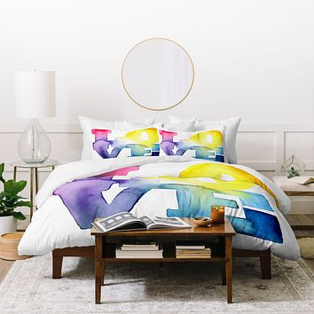 CMYKaren Love 4 Duvet Cover