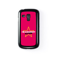 Celebrity Hater Black Hard Plastic Case for Samsung Galaxy S3 Mini by Chargrilled