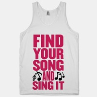 Find Your Song And Sing It