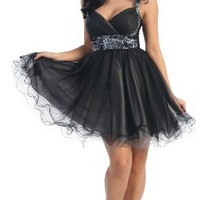 US Fairytailes Short Cocktail Party Junior Prom Dress #2657