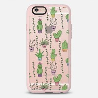 Cute Cactus Pattern iPhone 6s Plus case by Claudia Ramos | Casetify