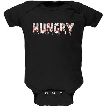 Halloween Hungry Zombie Pattern Soft Baby One Piece