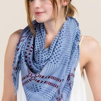 Paige Woven Square Scarf