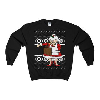 Dabbin Mrs. Claus Ugly Christmas Sweater Sweatshirt