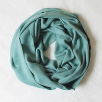 green pashmina scarf,infinity scarf, scarf, scarves, long scarf, loop scarf, gift
