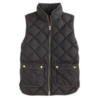 J.Crew Womens Petite Excursion Quilted Down Vest