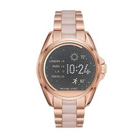 DCCKRQ5 Michael Kors Women's 43mm Access Bradshaw Rose Goldtone Smartwatch