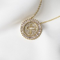 Cross Burst Necklace