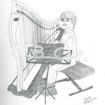 Boy on Harp - Copy