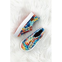 Blowfish Play-Kids Sneaker - Rainbow Tie Dye