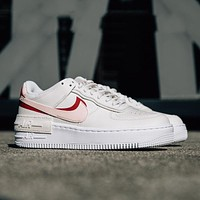 Nike Air Force 1 AF1 Paneled Double-Hook Deconstructed Casual Sneakers Shoes