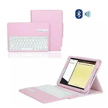 iPad Air 1 & 2 Case with Removable Bluetooth Keyboard