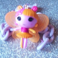 Fairy Kei - Lalaloopsy Fairy Doll Necklace from On Secret Wings
