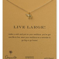 """Dogeared Live Large Necklace, 16"""""""