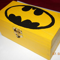 Batman Inspired Wooden Jewelry Boxes