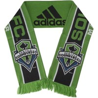 Seattle Sounders FC adidas Jacquard Knit Scarf – Green