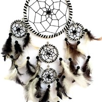 Handmade Dream Catcher Hanging Ornament (With a Betterdecor Gift Bag)-2rr