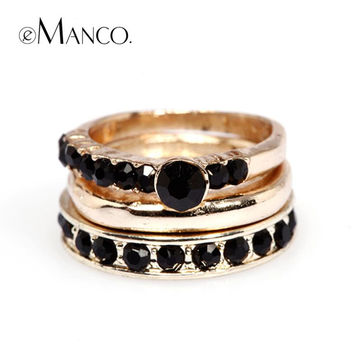 e-Manco Deer's original accessories  Fashion trend index finger ring for men and women with multi-layer ring  free shipping