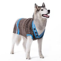 City V-Neck Dog Sweater XXS - 4XL by Dogo Pet Fashions