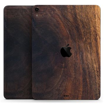"Knotted Rich Wood Plank - Full Body Skin Decal for the Apple iPad Pro 12.9"", 11"", 10.5"", 9.7"", Air or Mini (All Models Available)"