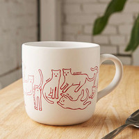 Cat Mug | Urban Outfitters