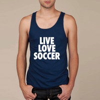 Live Love Soccer Tank Top
