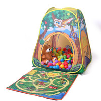 Australia Le authentic children's tent large baby owl wave marine ball game house dollhouse