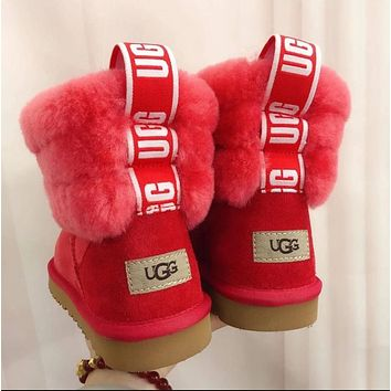 UGG Girls Casual Half Boots Trending Shoes Boots 1