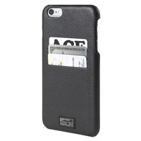 Hex: Focus Case For iPhone 6 plus - Black Leather (HX1837-BLCK)
