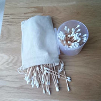 Bamboo Cotton Buds, Compostable, Vegan, 200 pack of Buds, Zero Waste, Eco-Friendly, Hygienic, 100% Biodegradable,