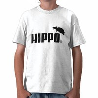 HIPPO T-SHIRTS from Zazzle.com