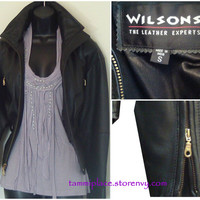 Wilson's Leather Chic Coat from Tammi's Place