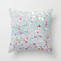 Surprise Party Throw Pillow by Lisa Argyropoulos