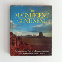Vintage Book The Magnificent Continent 1975 by vintage19something