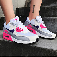 NIKE Air Max 90 women's all-match sports running shoes
