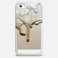 LIQUID SILVER & NUDE Crystal Clear | Design your own iPhonecase and Samsungcase using Instagram photos at Casetify.com | Free Shipping World