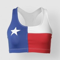 TEXAS FLAG SPORTS BRA - Active Wear - Accessories - Womens