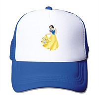 2016 New Adult Unisex Princess Snow White 100% Nylon Mesh Caps One Size Fits Most Adjustable Mesh Hats