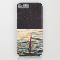 Drowned in space iPhone & iPod Case by Lacabezaenlasnubes