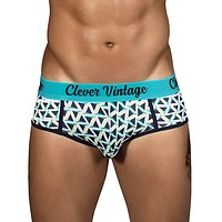 Clever 5311 Triangle Piping Briefs Blue