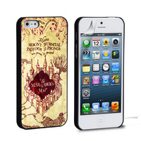 Marauder's Map harry potter iPhone 4 5 6 Samsung Galaxy S3 4 5 6 iPod Touch 4 5 HTC One M7 8 Case