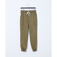 Over The Weekend Cargo Pants - Olive Green