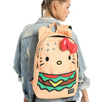 Loungefly Hello Kitty Burger Backpack
